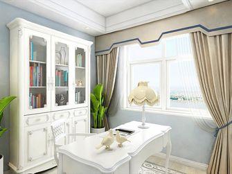 140平米四美式风格书房装修效果图