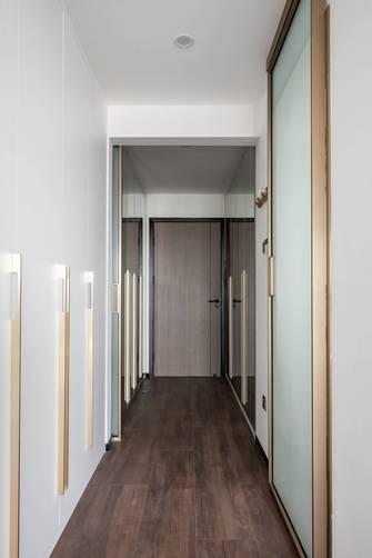 20万以上140平米三室两厅现代简约风格走廊装修图片大全