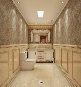 20万以上140平米复式新古典风格卫生间图