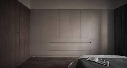 110平米三室一厅现代简约风格卧室装修效果图
