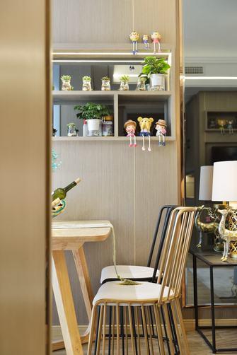 富裕型70平米一室两厅法式风格餐厅图片大全