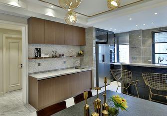 富裕型140平米三室两厅混搭风格厨房装修案例
