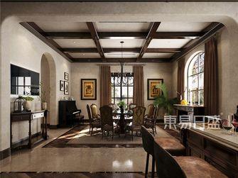 140平米别墅欧式风格餐厅欣赏图