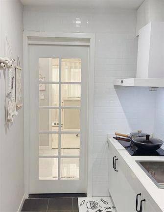 5-10万60平米一室两厅现代简约风格厨房装修图片大全