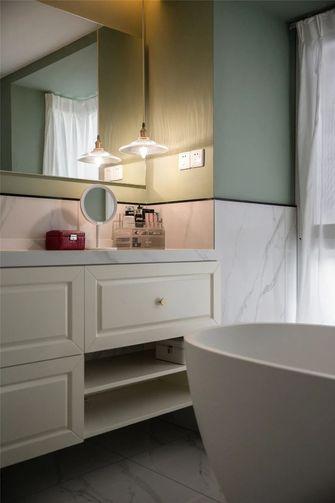 经济型130平米三室两厅北欧风格卫生间图片