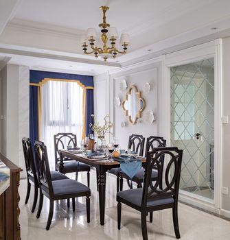 富裕型130平米公寓新古典风格餐厅图片大全