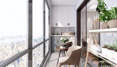 130平米四室一厅美式风格阳台图