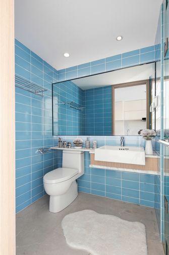 3-5万60平米公寓北欧风格卫生间装修效果图