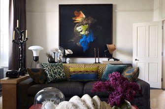 60平米一居室美式风格客厅装修案例