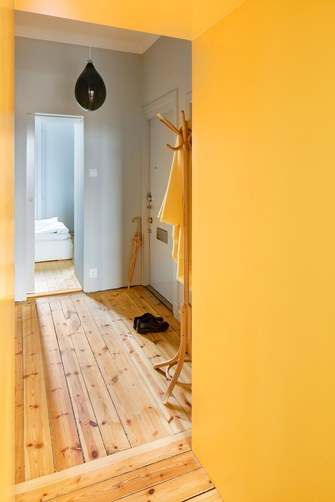 20万以上60平米公寓美式风格玄关装修图片大全