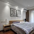 15-20万90平米三室一厅混搭风格卧室图