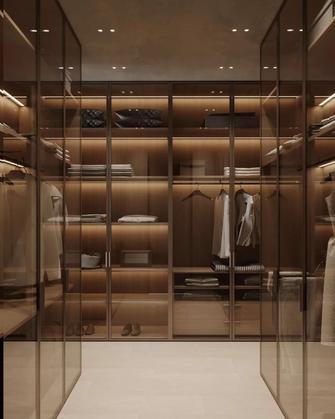 富裕型140平米三室两厅北欧风格衣帽间图