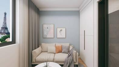 5-10万60平米公寓美式风格客厅图片