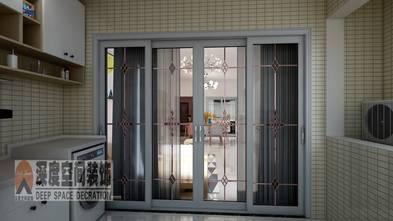 经济型90平米三室两厅现代简约风格阳台设计图