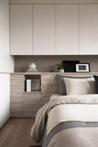 富裕型100平米三室两厅港式风格卧室图片大全