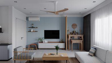 10-15万60平米一居室混搭风格客厅图片大全