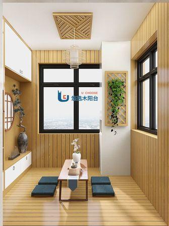 日式风格阳台效果图