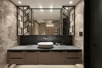 富裕型140平米三室两厅混搭风格卫生间图片