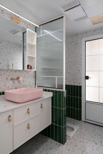 经济型90平米三室三厅北欧风格卫生间欣赏图