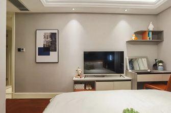 120平米三室两厅现代简约风格卧室图片大全