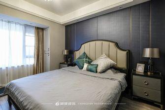 富裕型130平米三室一厅欧式风格卧室装修效果图