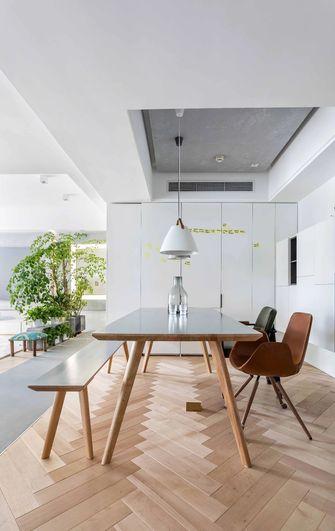 富裕型80平米一室两厅现代简约风格餐厅装修图片大全