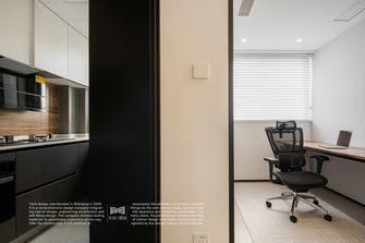5-10万90平米三室两厅现代简约风格书房图片大全