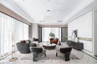 经济型140平米四室三厅现代简约风格客厅欣赏图