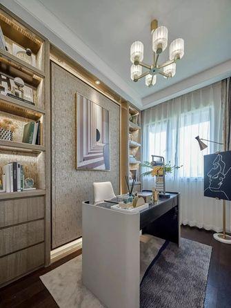 经济型120平米轻奢风格书房设计图
