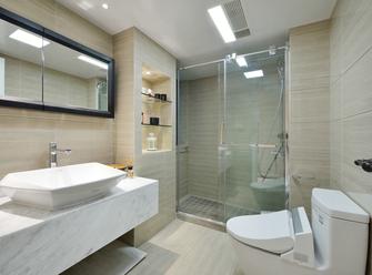 100平米三室一厅现代简约风格卫生间效果图