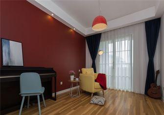 豪华型130平米四室两厅北欧风格书房图