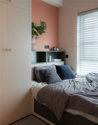 经济型60平米公寓英伦风格卧室装修案例