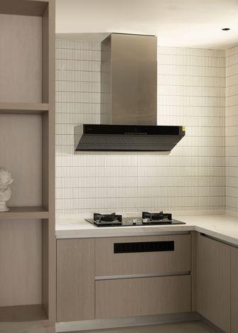 富裕型110平米三室两厅混搭风格厨房图片大全