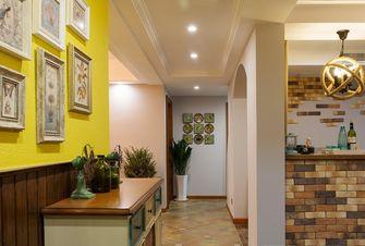 富裕型120平米三室两厅美式风格走廊效果图