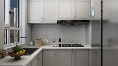 富裕型120平米三室两厅美式风格厨房图