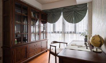 5-10万110平米三室两厅美式风格书房效果图