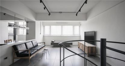 140平米四现代简约风格阁楼装修案例
