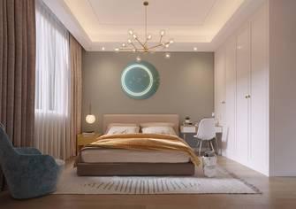 豪华型140平米别墅美式风格卧室效果图