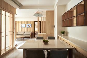 富裕型120平米三室一厅日式风格客厅欣赏图