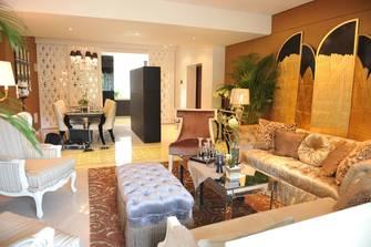 110平米三欧式风格客厅图片