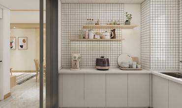 3-5万80平米日式风格厨房设计图