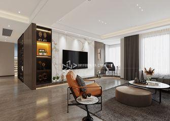 140平米四室四厅轻奢风格客厅装修图片大全