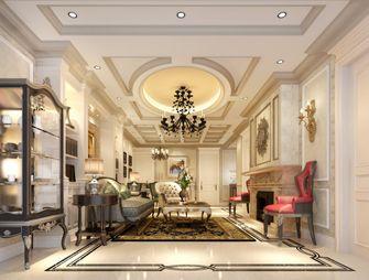 130平米复式法式风格客厅图片大全