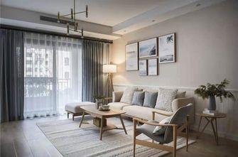 富裕型130平米四室一厅日式风格客厅装修图片大全
