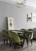 80平米三北欧风格餐厅设计图