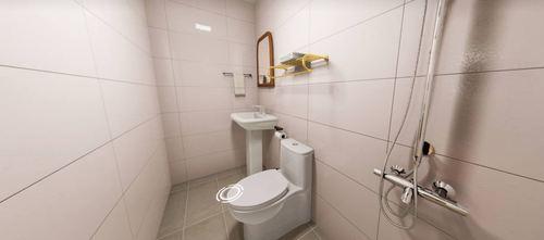 50平米一居室日式风格卫生间欣赏图