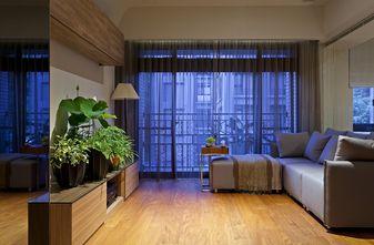 110平米三港式风格客厅装修图片大全