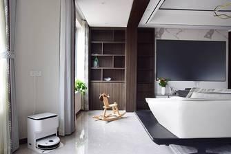 20万以上140平米三室两厅现代简约风格阳台图