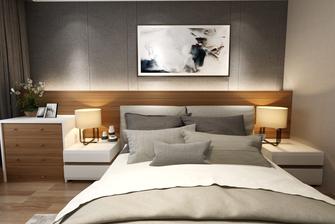 110平米三室一厅港式风格卧室欣赏图