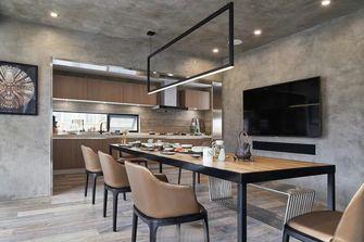 20万以上140平米四室三厅工业风风格餐厅图片大全
